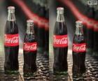 Garrafas originais de Coca-Cola