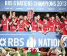 Galês campeão as seis nações de 2013
