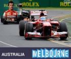 Fernando Alonso - Ferrari - Grand Prix da Austrália 2013, 2º classificado