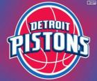 Logo Detroit Pistons, equipa da NBA. Divisão Central,ConferênciaLeste