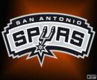 Logo San Antonio Spurs, time da NBA. Divisão Sudoeste,ConferênciaOeste