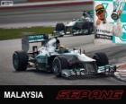 Lewis Hamilton - Mercedes - Grande Prêmio da Malásia 2013, 3º classificado
