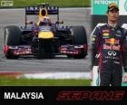 Mark Webber - Red Bull - Grande Prêmio da Malásia 2013, 2º classificado