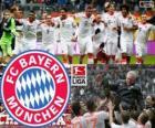F. C. Bayern Munich, campeão da Bundesliga 2012-13