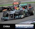 Lewis Hamilton - Mercedes - Grande Prémio da China 2013, 3º classificado
