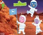 Os astronautas Backyardigans chegaram a Marte
