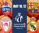 Final Four Londres 2013 Euroliga de basquetebol