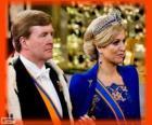Guilherme Alexandre e Máxima novos reis da Holanda (2013)