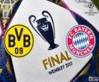 Borussia Dormunt vs Bayern de Munique. Final da UEFA Champions League 2012-2013. Estádio de Wembley, Londres, Grã-Bretanha