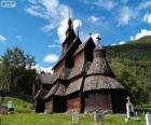 Igreja de madeira de Borgund, Noruega