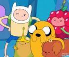 Vários personagens de Adventure Time, Hora de Aventura