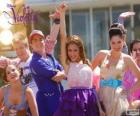 Performance musical de Violetta