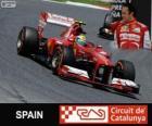 Felipe Massa - Ferrari - Grande Prémio de Espanha 2013, 3º classificado