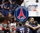 Paris Saint Germain, PSG, campeão Ligue 1 2012-2013, liga de futebol da França