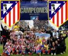 Atlético de Madrid campeão da Copa del Rey 2012-2013