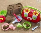 Acessórios para brincar na praia