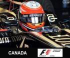 Romain Grosjean - Lotus - Circuito Gilles Villeneuve, Montreal, 2013