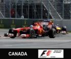 Fernando Alonso - Ferrari - Grand Prix do Canadá 2013, 2º classificado