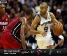 Final da NBA 2013, 3 jogo, Miami Heat 77 - San Antonio Spurs 113