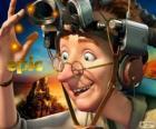 Professor Bomba, um cientista excêntrico