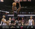 Final da NBA 2013, 4 jogo, Miami Heat 109 - San Antonio Spurs 93