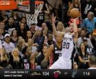 Final da NBA 2013, 5 jogo, Miami Heat 104 - San Antonio Spurs 114