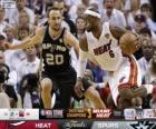 Final da NBA 2013, 7 jogo, San Antonio Spurs 88 - Miami Heat 95