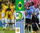 Meias-finais do Brasil - Uruguai, Copa das Confederações de 2013
