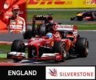 Fernando Alonso - Ferrari - Grande Prémio da Grã-Bretanha 2013, 3º classificado