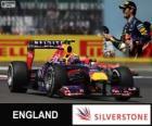 Mark Webber - Red Bull - Grande Prémio da Grã-Bretanha 2013, 2º classificado