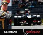 Kimi Räikkönen - Lotus - Grande Prêmio Alemanha 2013, 2º classificado