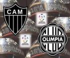 Olimpia Asuncion vs Atlético Mineiro. Final Copa Libertadores de 2013