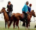 Xilingol cavalo originários da Mongólia
