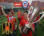 Unión Española, campeão do Torneo de Transición 2013, Chile