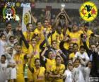 Clube América, campeão do torneio Clausura 2013, México