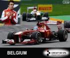 Fernando Alonso - Ferrari - Grande Prémio do Bélgica 2013, 2º classificado