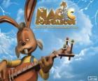 Dylan, o coelho que toca guitarra
