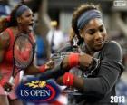 Serena Williams, campeã do US Open 2013