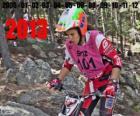 Laia Sanz, o campeão do mundo de trial de 2013