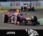 Mark Webber - Red Bull - GP do Japão 2013, 2º classificado