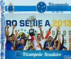 Cruzeiro, campeão do Campeonato Brasileiro de Futebol em 2013. Brasileirão 2013