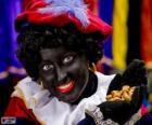 Zwarte Piet, Pedro Preto, o assistente de São Nicolau nos Países Baixos e na Bélgica