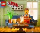 Emmet, o protagonista do filme Lego