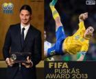 Prêmio Puskas da FIFA 2013 para Zlatan Ibrahimovic