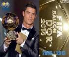 Cristiano Ronaldo Ballon d'Or da FIFA 2013