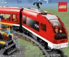 Um trem de Lego