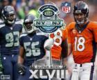 Super Bowl 2014. Seattle Seahawks vs Denver Broncos. MetLife Stadium, New Jersey, 2 de fevereiro de 2014