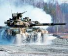 Tanque de batalha russo T-90S