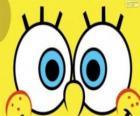 Os olhos de Bob Esponja