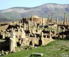 Djémila o maior número de ruínas romanas a Norte de África, Argélia